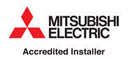 Mitsubishi accredited installer