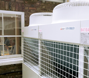 Air conditioning for business centre