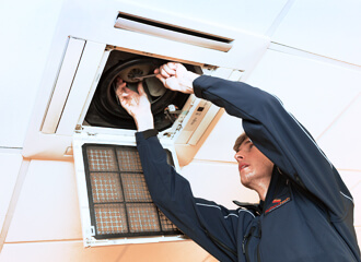 Air Conditioning system filter replacement