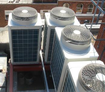 Charterhouse Street climate control system