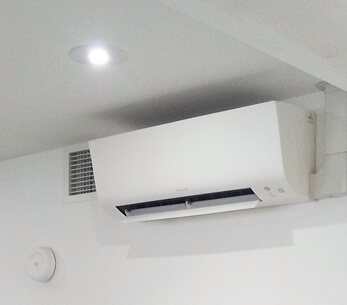 High performance air conditioning