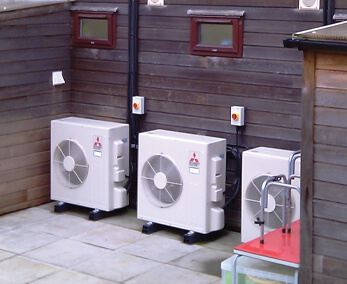 Energy efficient air conditioning