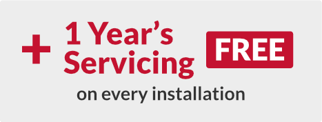 One year free servicing