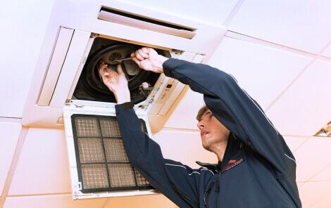 Repair air conditioning