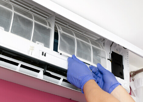 replace air conditioning filter
