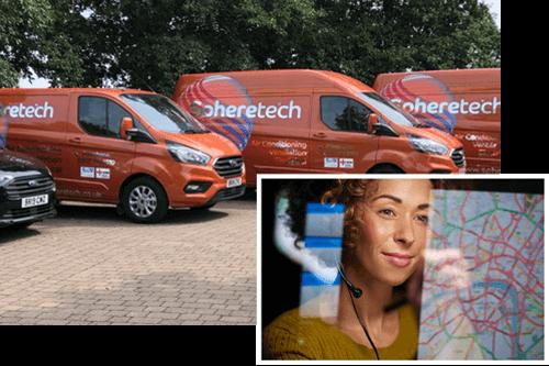 Spheretech air conditioning fleet