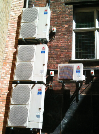 St Bride Foundation air conditioning