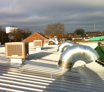 WH Tildesley roof installation
